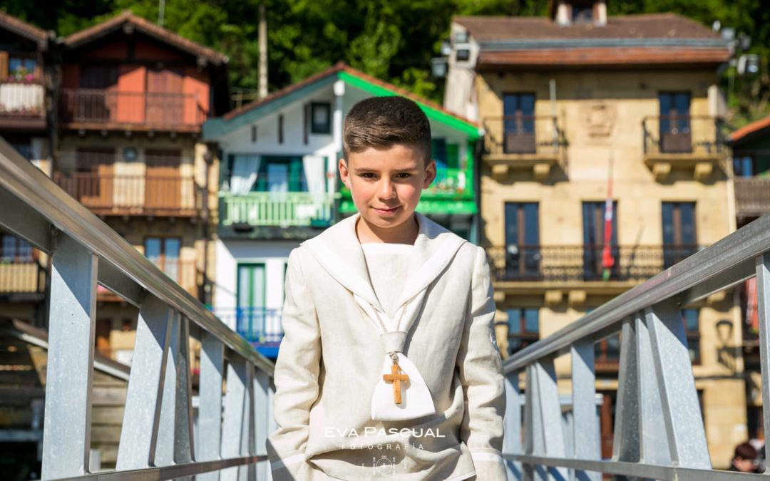 Protegido: La primera comunión de Urko (Pasai Donibane)